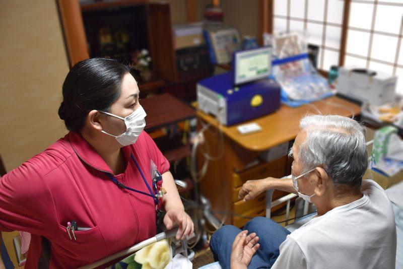 訪問看護CAPD