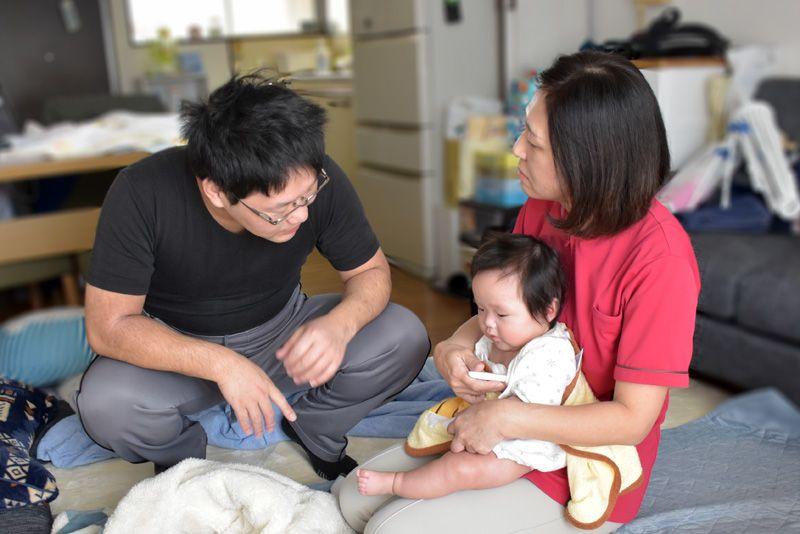 訪問看護小児