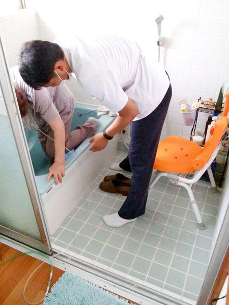 訪問リハビリテーション 基本動作、日常生活動作、生活周辺動作へのアプローチ